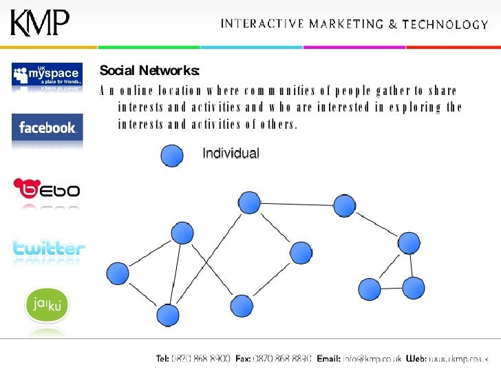 Social Networks: An online location where communities of people gather to share interests and activities and who are inter...