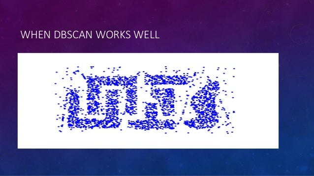 K means and dbscan
