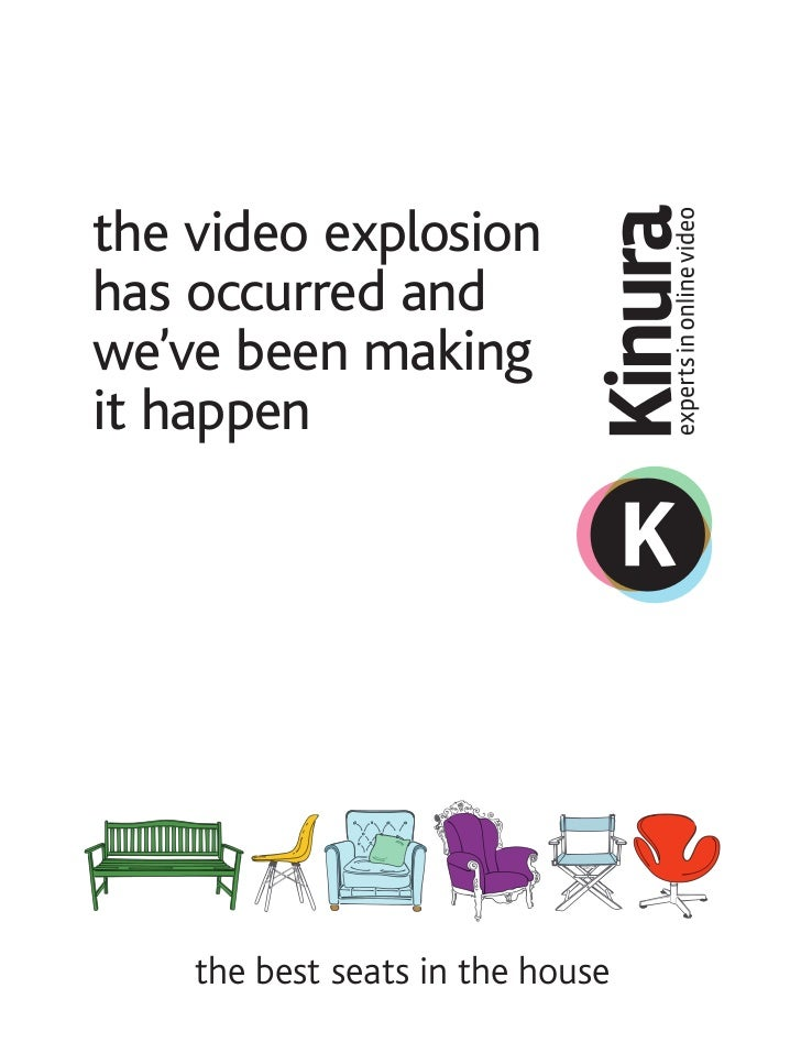 the video explosionhas occurred andwe've been makingit happen    the best seats in the house