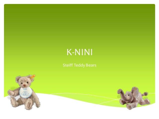 K-NINI Steiff Teddy Bears