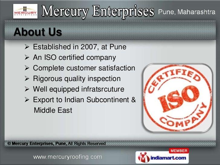 K span factory roof by mercury enterprises pune pune Slide 2