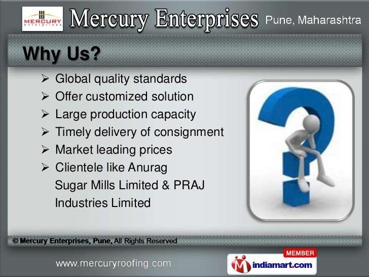 K span factory roof by mercury enterprises pune pune Slide 3