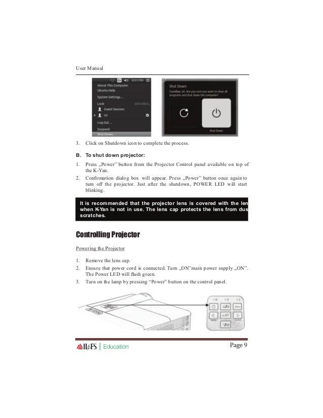 K yan pro user manual