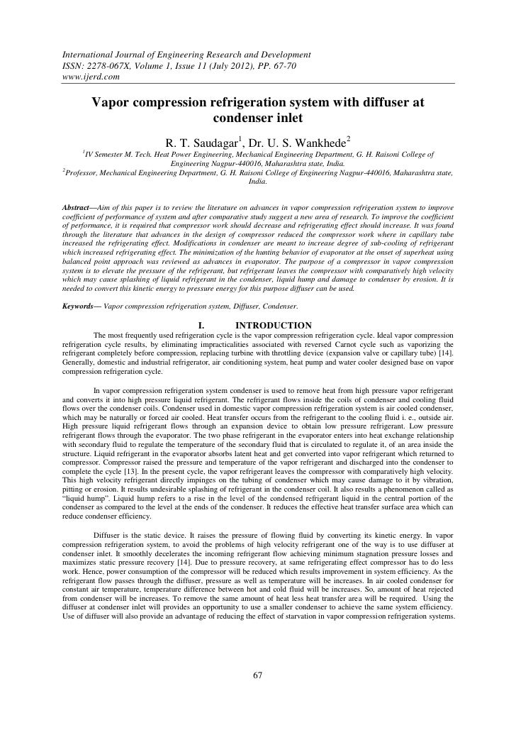 International Journal of Engineering Research and DevelopmentISSN: 2278-067X, Volume 1, Issue 11 (July 2012), PP. 67-70www...