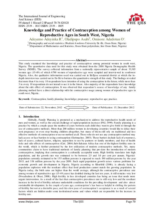 The International Journal of EngineeringAnd Science (IJES)||Volume|| 1 ||Issue|| 2 ||Pages|| 70-76 ||2012||ISSN: 2319 – 18...