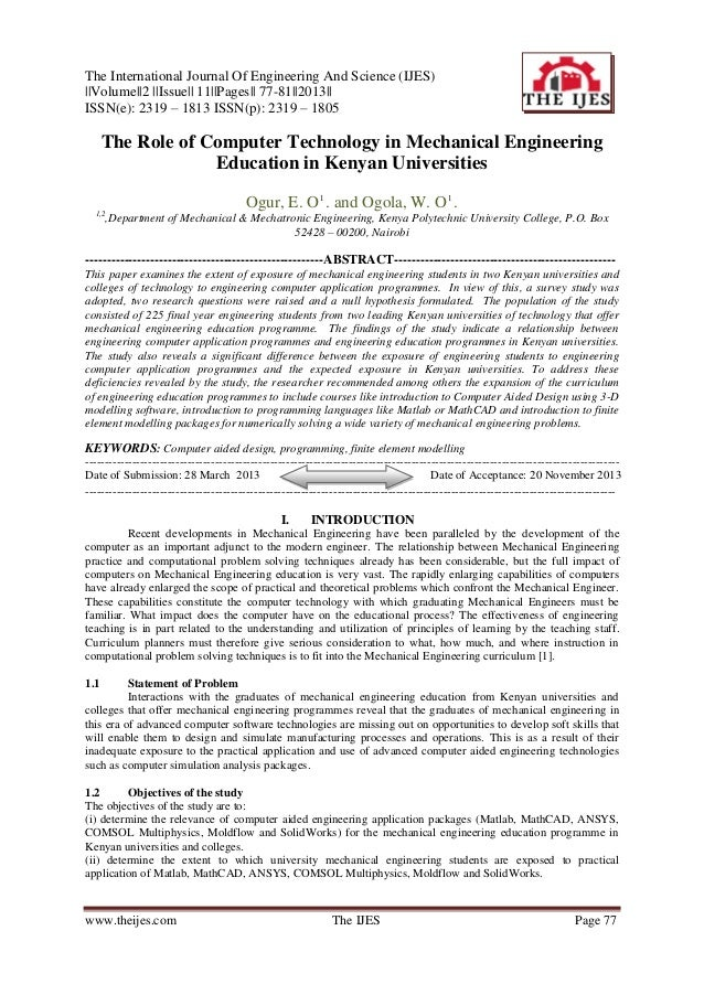 The International Journal Of Engineering And Science (IJES) ||Volume||2 ||Issue|| 11||Pages|| 77-81||2013|| ISSN(e): 2319 ...