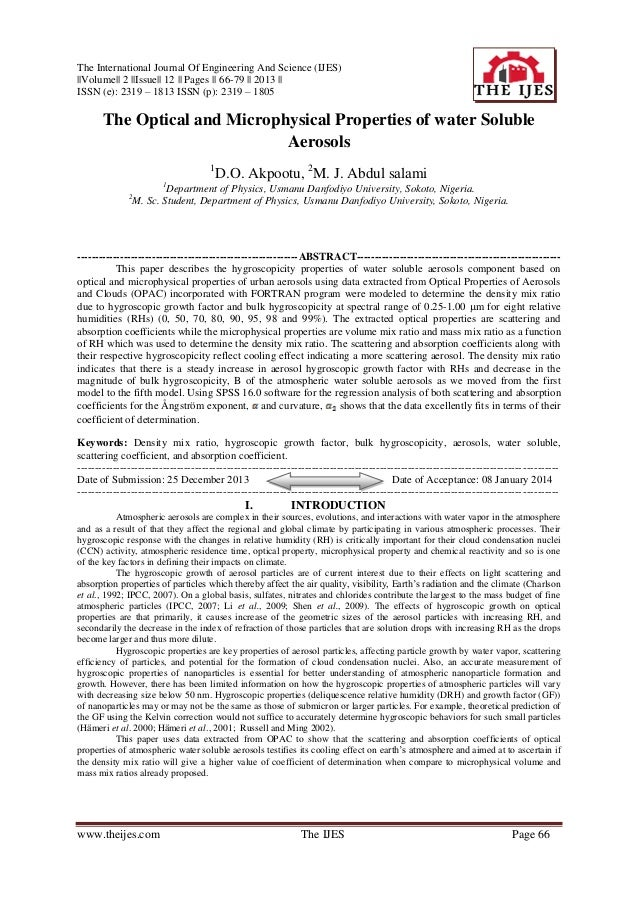 The International Journal Of Engineering And Science (IJES) ||Volume|| 2 ||Issue|| 12 || Pages || 66-79 || 2013 || ISSN (e...