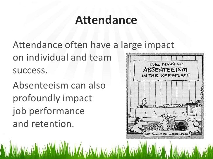 work ethics attendance