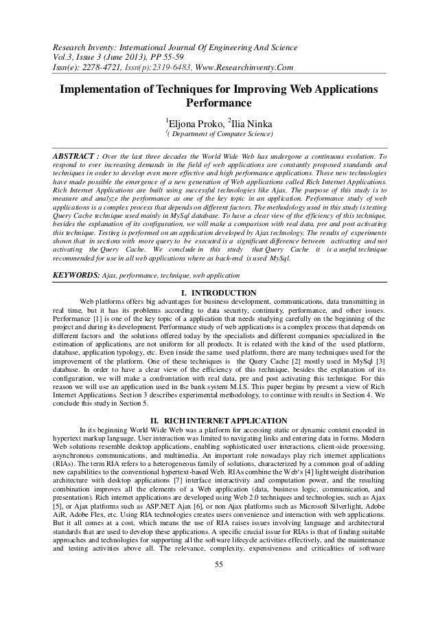 Research Inventy: International Journal Of Engineering And Science Vol.3, Issue 3 (June 2013), PP 55-59 Issn(e): 2278-4721...