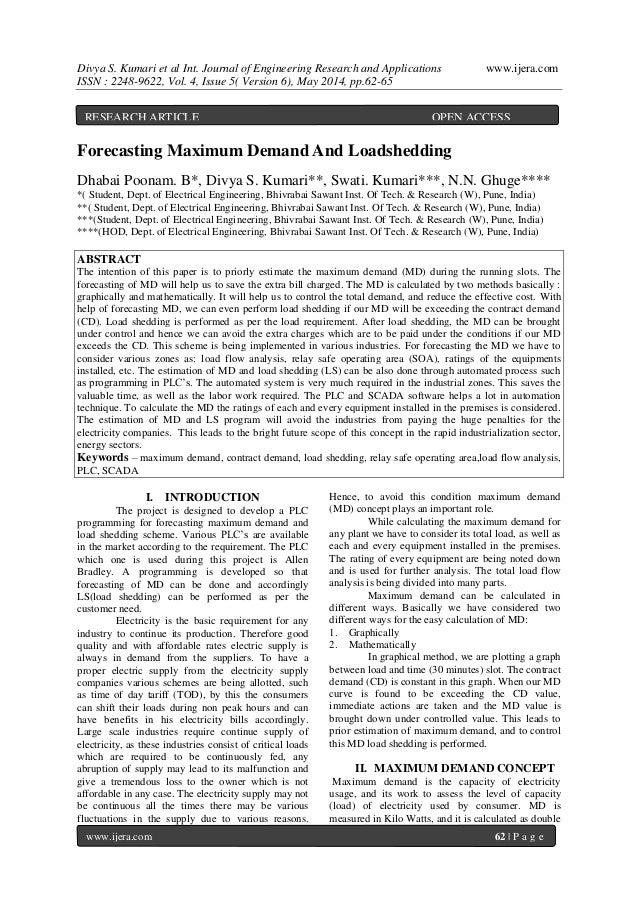 Divya S. Kumari et al Int. Journal of Engineering Research and Applications www.ijera.com ISSN : 2248-9622, Vol. 4, Issue ...