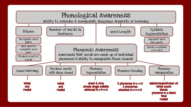 Playing with Words Phonological Awareness in Shared Reading Intera – Phonemic Awareness Worksheets