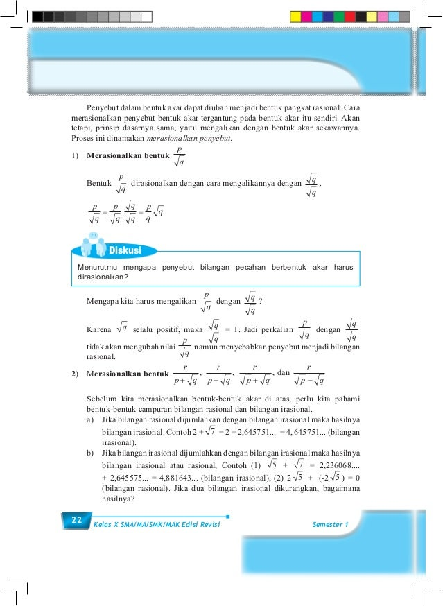 K10 Bs Matematika Sem1 Sma Kelas X Kurikulum 2013 Blogerkupang Com