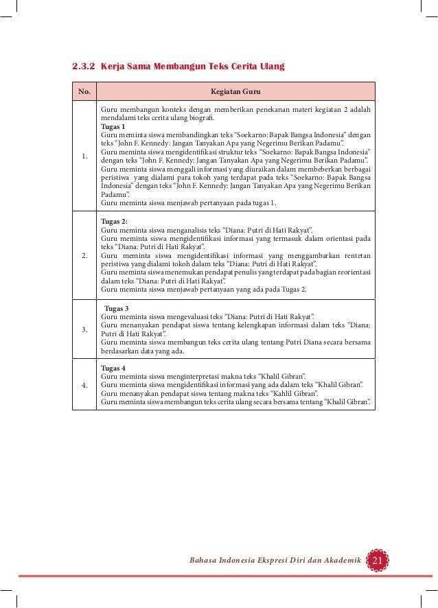 Contoh Biografi Guru Dalam Bahasa Sunda Kontrak Kerja