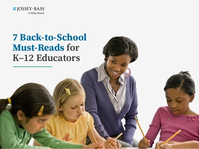 7 Back-to-School Must-Reads for K–12 Educators