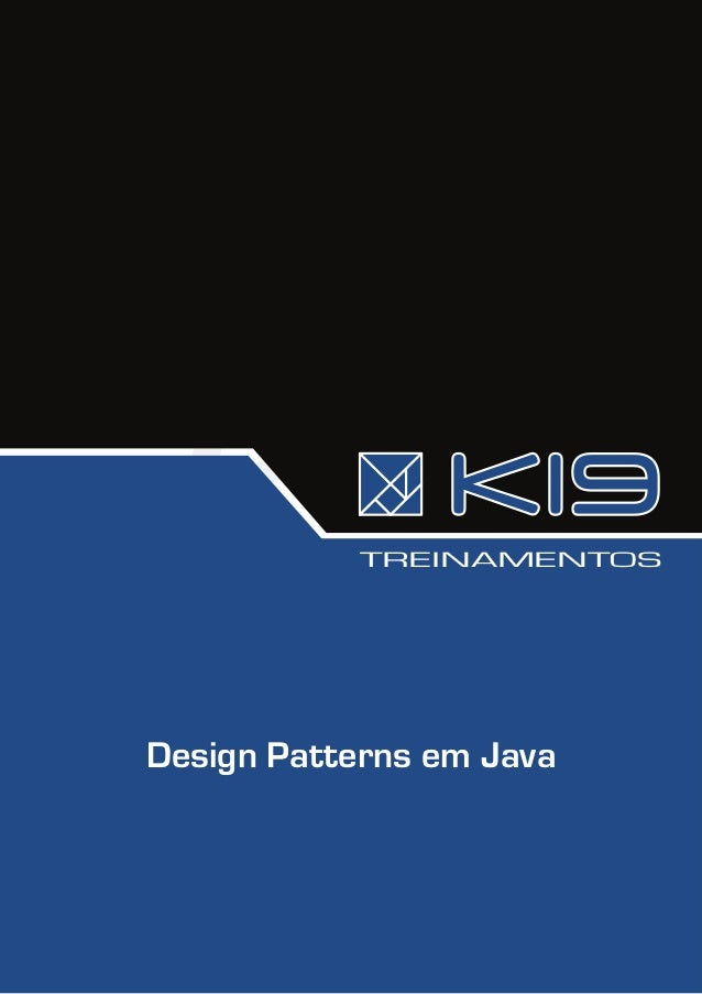 TREINAMENTOSDesign Patterns em Java