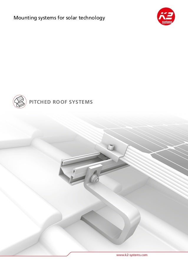 K2 Pitched Roof Mounting Systems