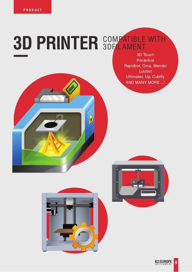 K2 3d Filament For 3d Printing 2015