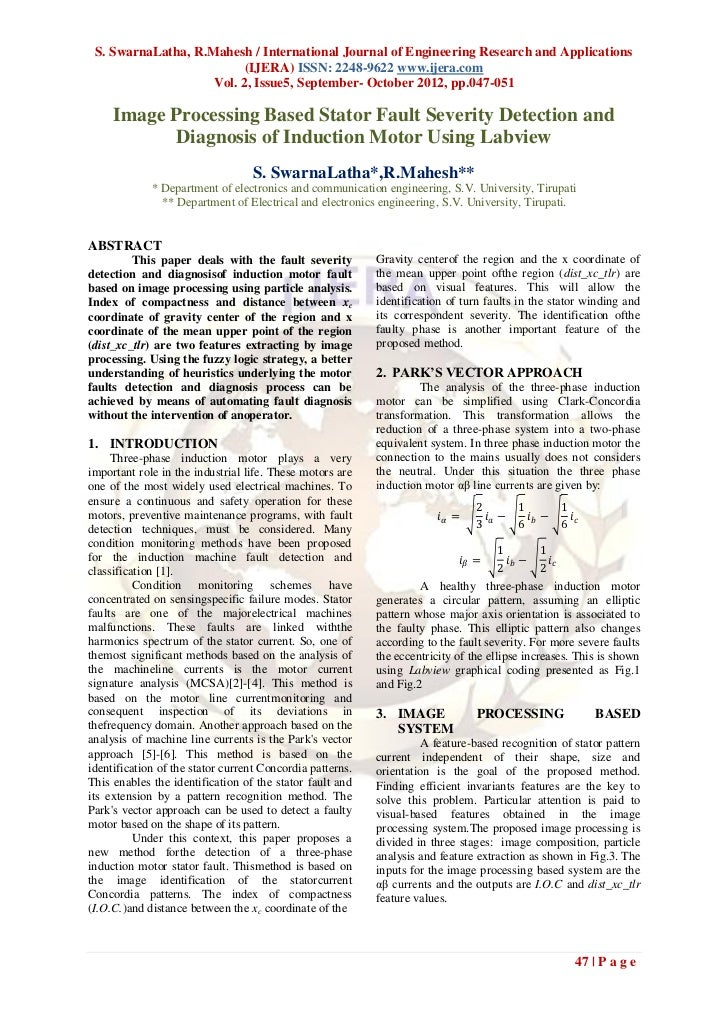 S. SwarnaLatha, R.Mahesh / International Journal of Engineering Research and Applications                          (IJERA)...