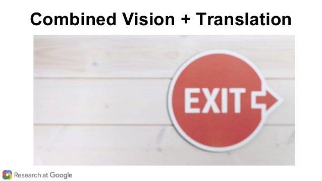 Combined Vision + Translation