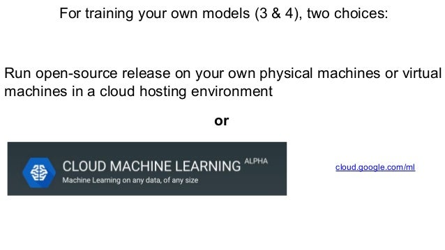 (4) Develop your own machine learning models https://www.tensorflow.org/versions/master/get_started/basic_usage.html
