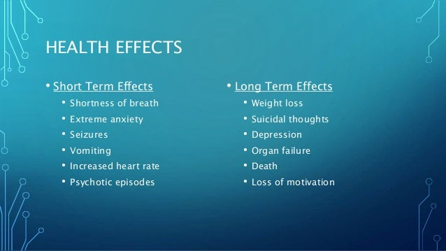 how to get rid of k2 side effects