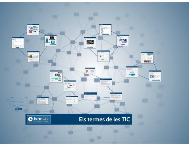 Els termes de les TIC. Marta Grané, Jordi Bover