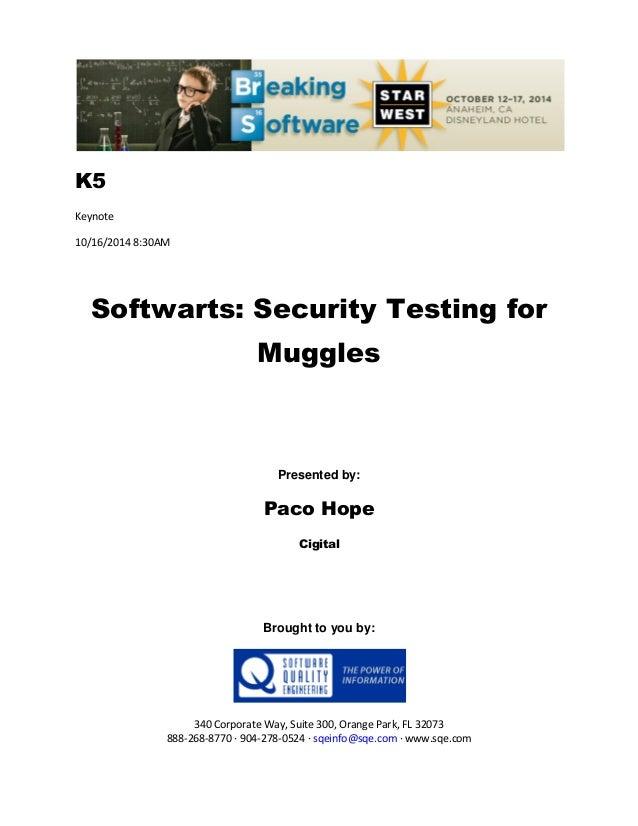 Softwarts Security Testing For Muggles 638 Cb Golden Rules Improve Linkedin Conversion