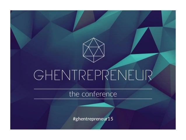 #ghentrepreneur15