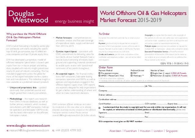Prediction for oil gas 2015