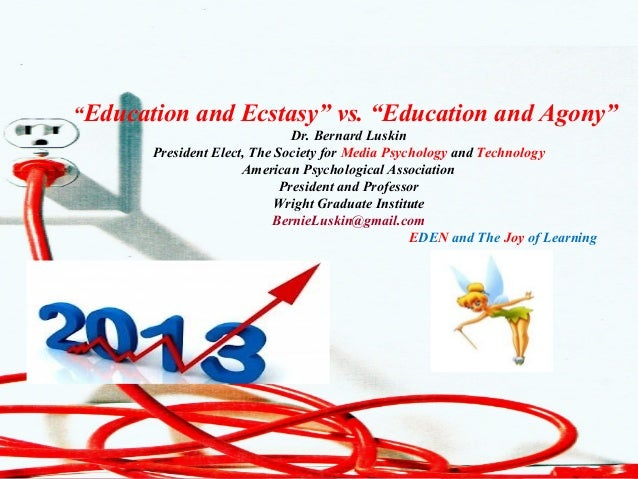 """CLO Conference Dr. Bernard J. Luskin 1New Learning Technologies2001Dr. Bernard J. LuskinGlobal Learning Systems""""Education ..."""