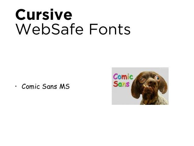 Après 2010  L'ère Web Font