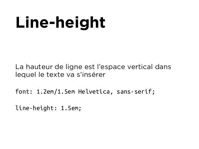 Typographie pour le Web