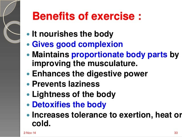 why is it important to exercise daily