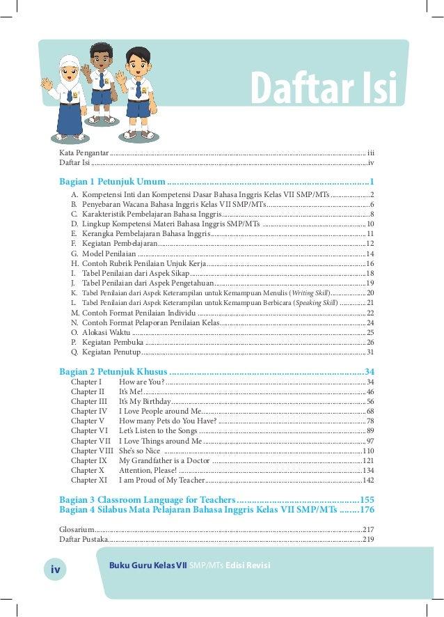 Buku Guru Bahasa inggris Kelas VII SMP Kurikulum 2013