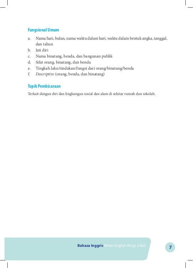Buku Bahasa Inggris K13 Kls Vii