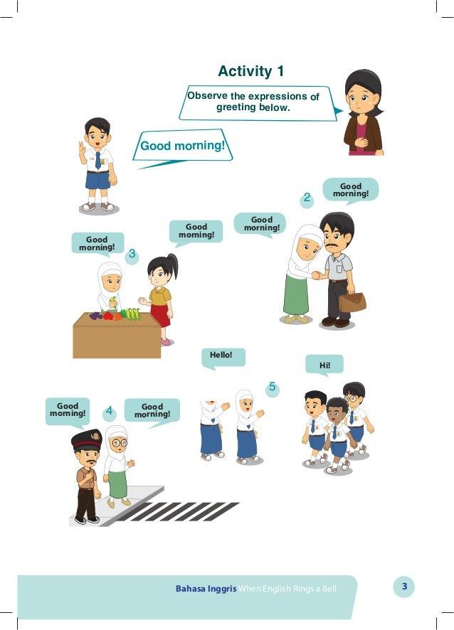 Buku Bahasa Inggris Kelas 7 When English Rings A Bell Untuk Siswa