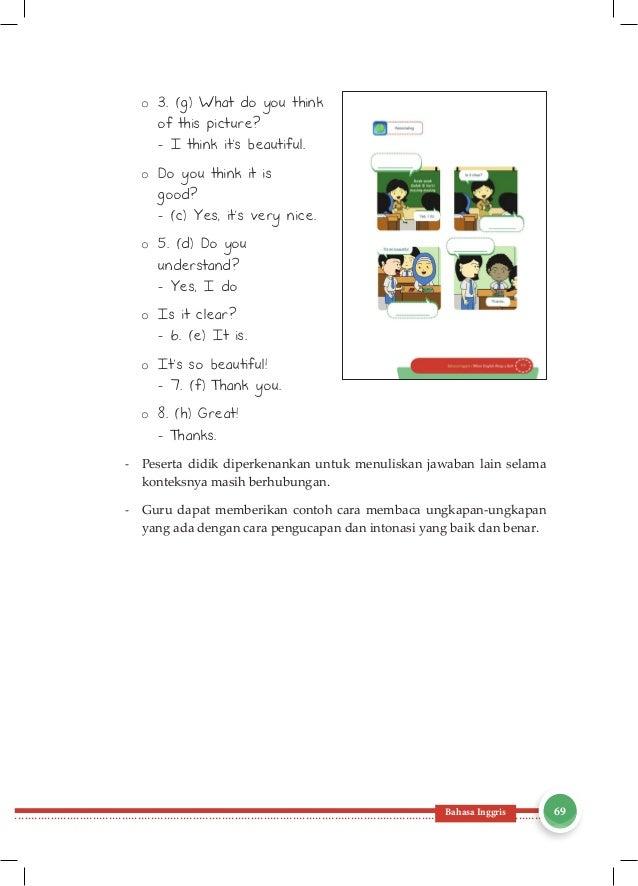 Contoh Ungkapan Petunjuk Kelas 1 Sd Sinter G