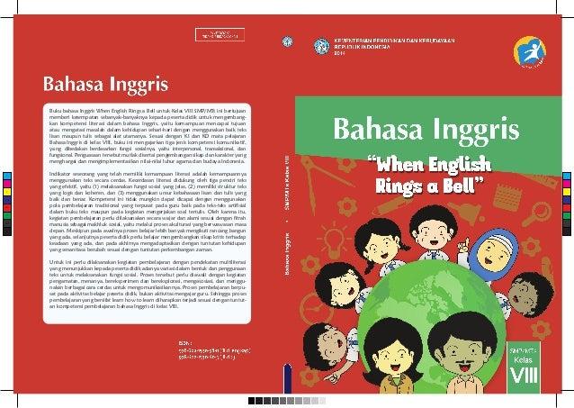 """Buku bahasa Inggris kelas 8 """"When English Rings a Bell ..."""