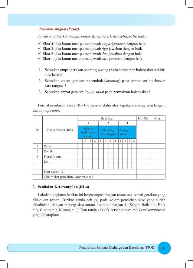 Buku Siswa Pjok Kelas Viii Smp Kurikulum 2013