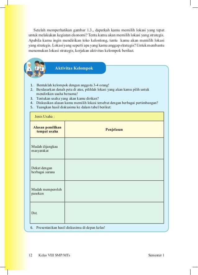 Buku Siswa Ips Kelas Viii Smp Kurikulum 2013