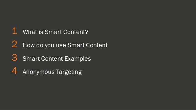 PERSONALIZING YOUR MARKETING WITH SMART CONTENT, PERSONAS, AND HUBSPOT [INBOUND 2014] Slide 3