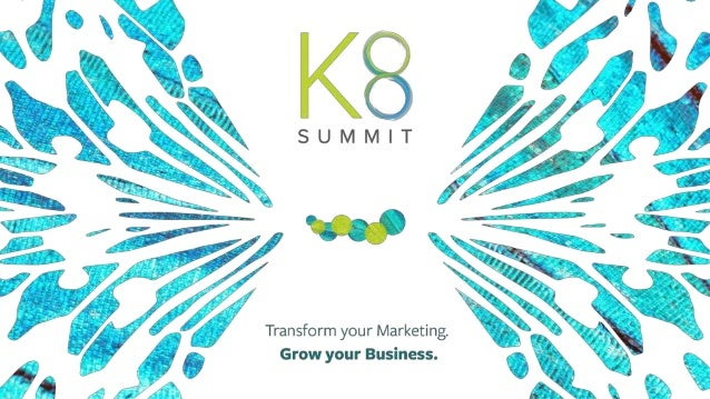 2© 2015 Kenshoo, Ltd. Confidential and Proprietary Information #K8Summit William Martin-Gill Senior Vice President, Product