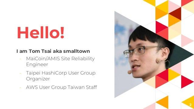 Hello! I am Tom Tsai aka smalltown 2
