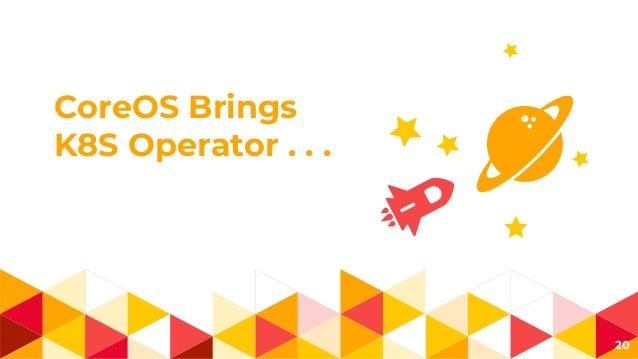 CoreOS Brings K8S Operator . . . 20