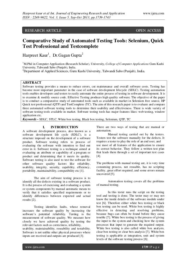 Harpreet kaur et al Int. Journal of Engineering Research and Application ISSN : 2248-9622, Vol. 3, Issue 5, Sep-Oct 2013, ...