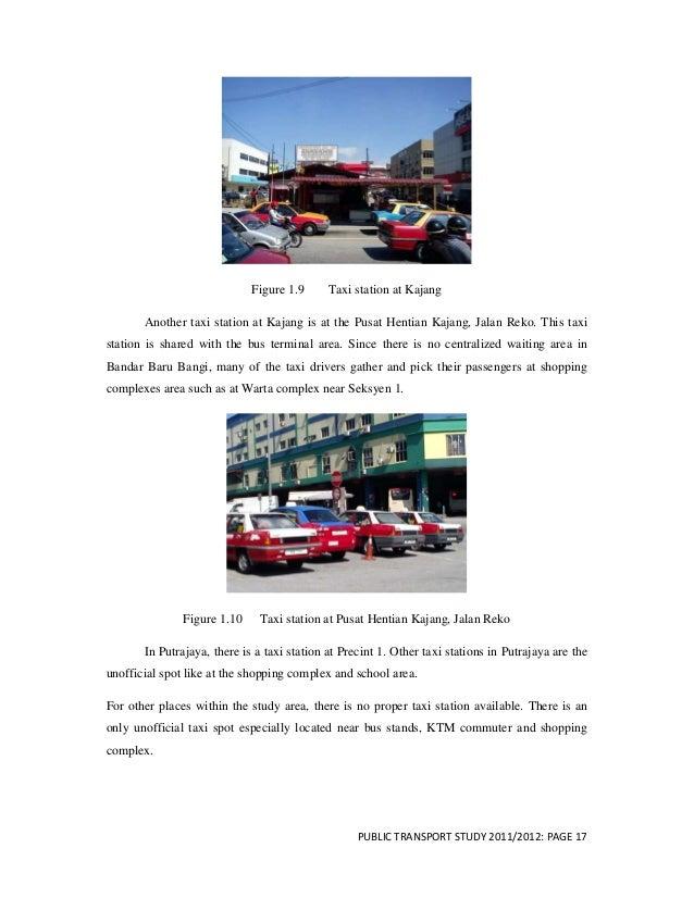Public transport report