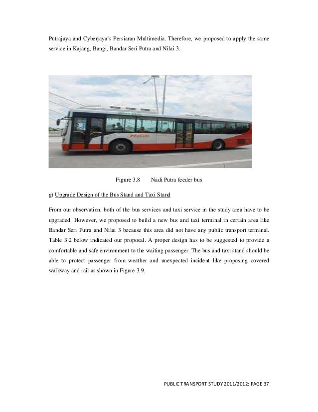 public transport report Review of urban transportation in india 79  reduces the need to travel by personalized modes and boosts public transport sys-  final report.