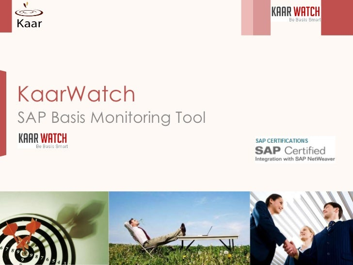 KaarWatch SAP Basis Monitoring Tool