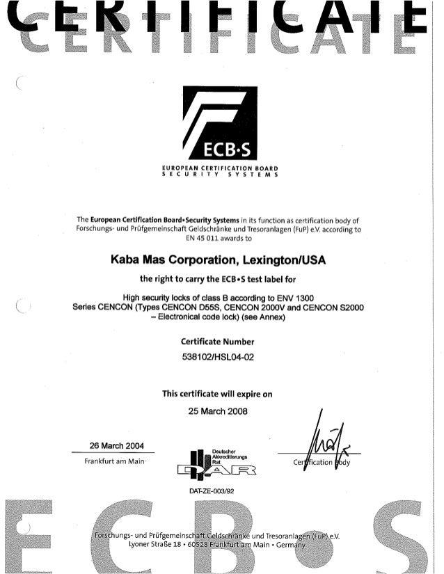 Kaba cencon2000 certificate_ecb-s_01