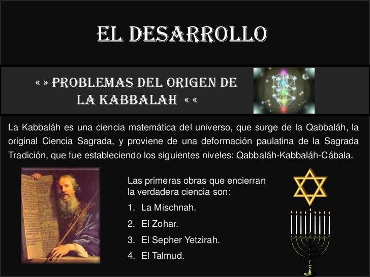 El desarrollo      « » PROBLEMAS DEL ORIGEN DE                                                                            ...